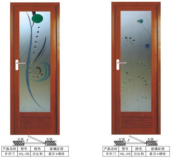 for Pvc bathroom door designs